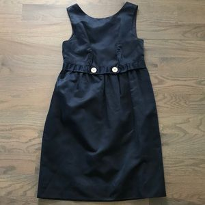 Vera Wang navy all occasion low back dress 36 2